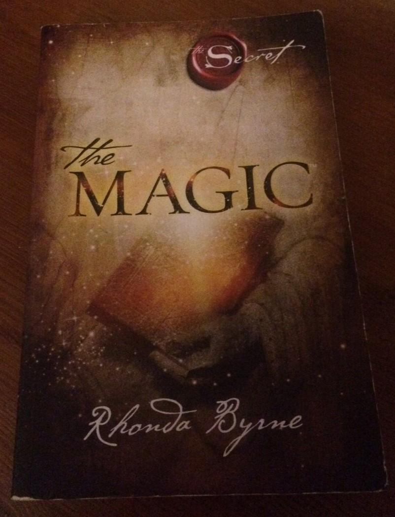 My well thumbed copy of The Magic by Rhonda Byrne