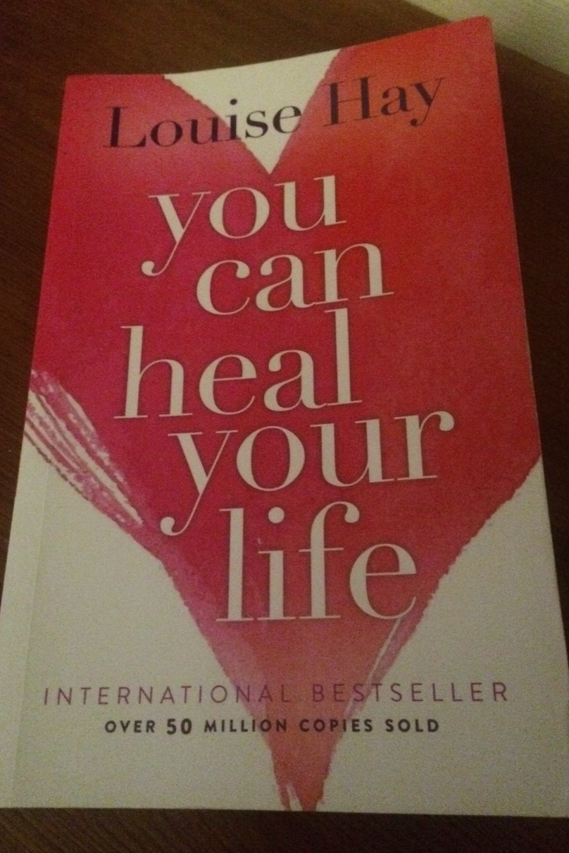 My copy of Louise Hays book 'You can heal your life'